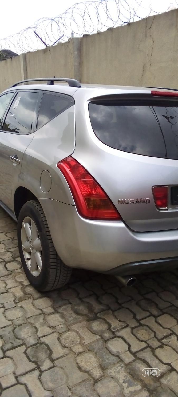 Archive: Nissan Murano 2005 S Silver