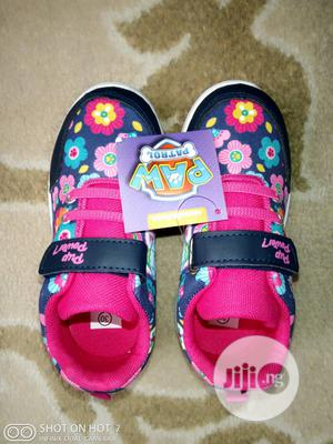 Flowered Pink Sneakers for Girls | Children's Shoes for sale in Lagos State, Lagos Island (Eko)