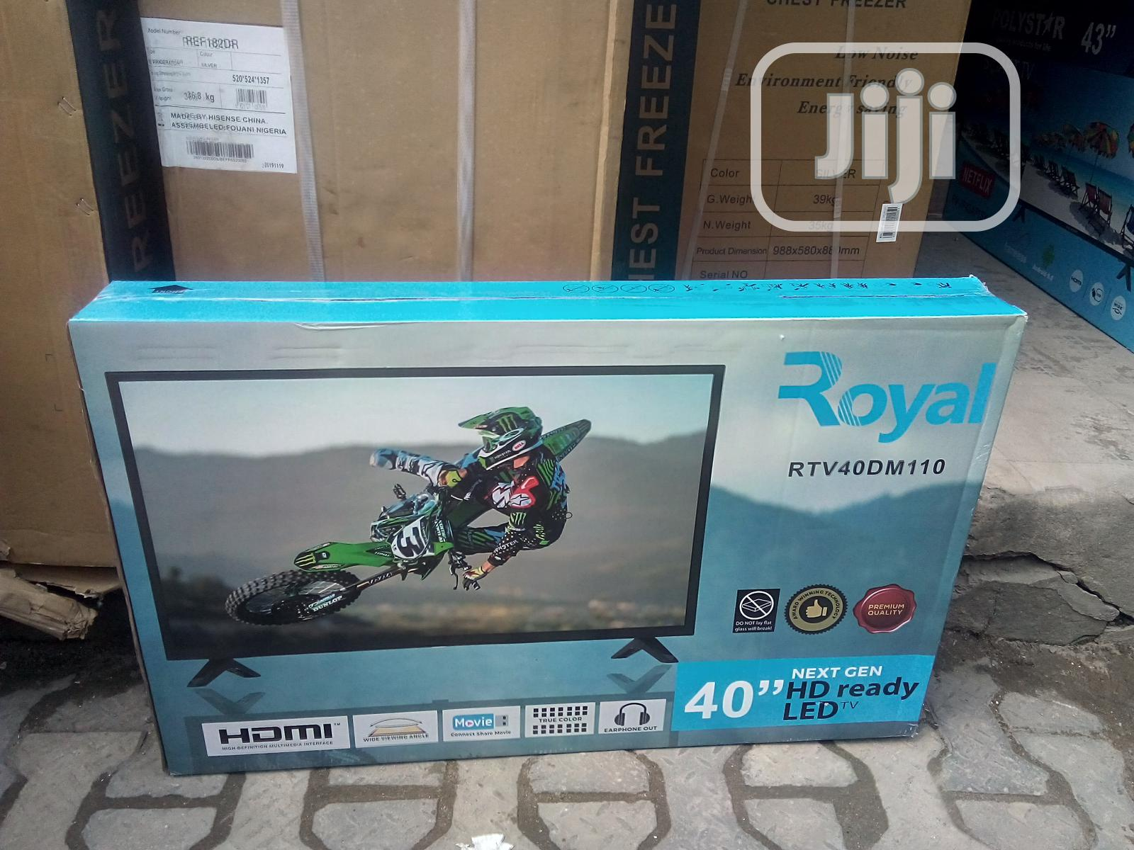40,Inch Royal HD LED TV Next Generation