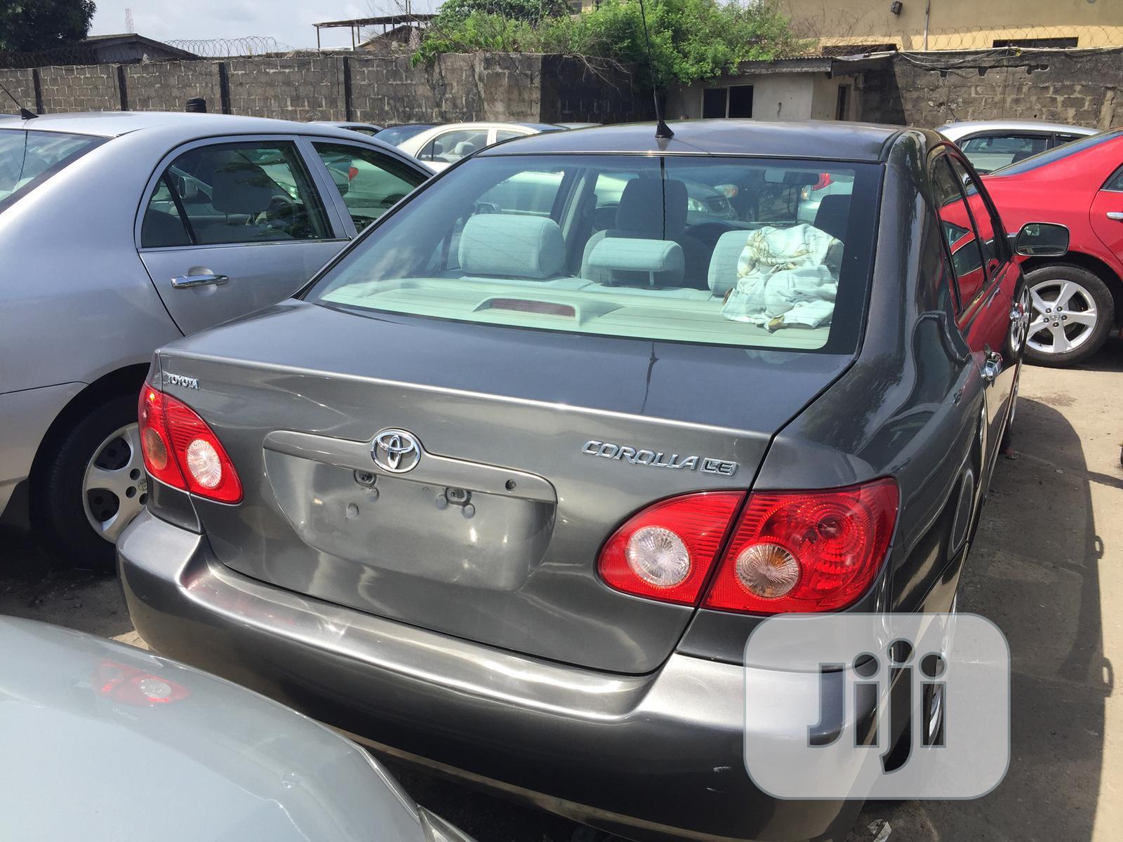 Toyota Corolla LE 2006 Gray | Cars for sale in Apapa, Lagos State, Nigeria