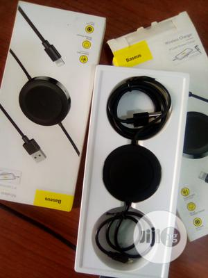 Baseus Ip Cable Wireless Charger Black   Accessories for Mobile Phones & Tablets for sale in Lagos State, Ikeja