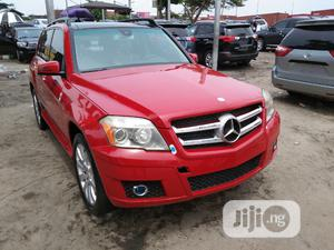 Mercedes-Benz GLK-Class 2010 350 4MATIC Red   Cars for sale in Lagos State, Apapa