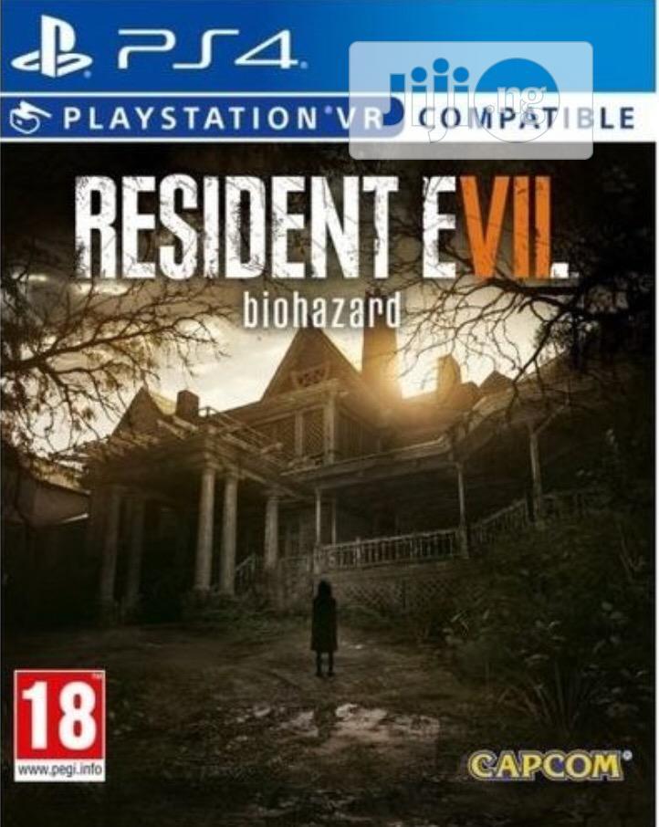 PS4 Playstation Resident Evil VII