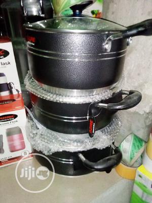3pcs Non-stick Pots | Kitchen & Dining for sale in Lagos State, Lagos Island (Eko)