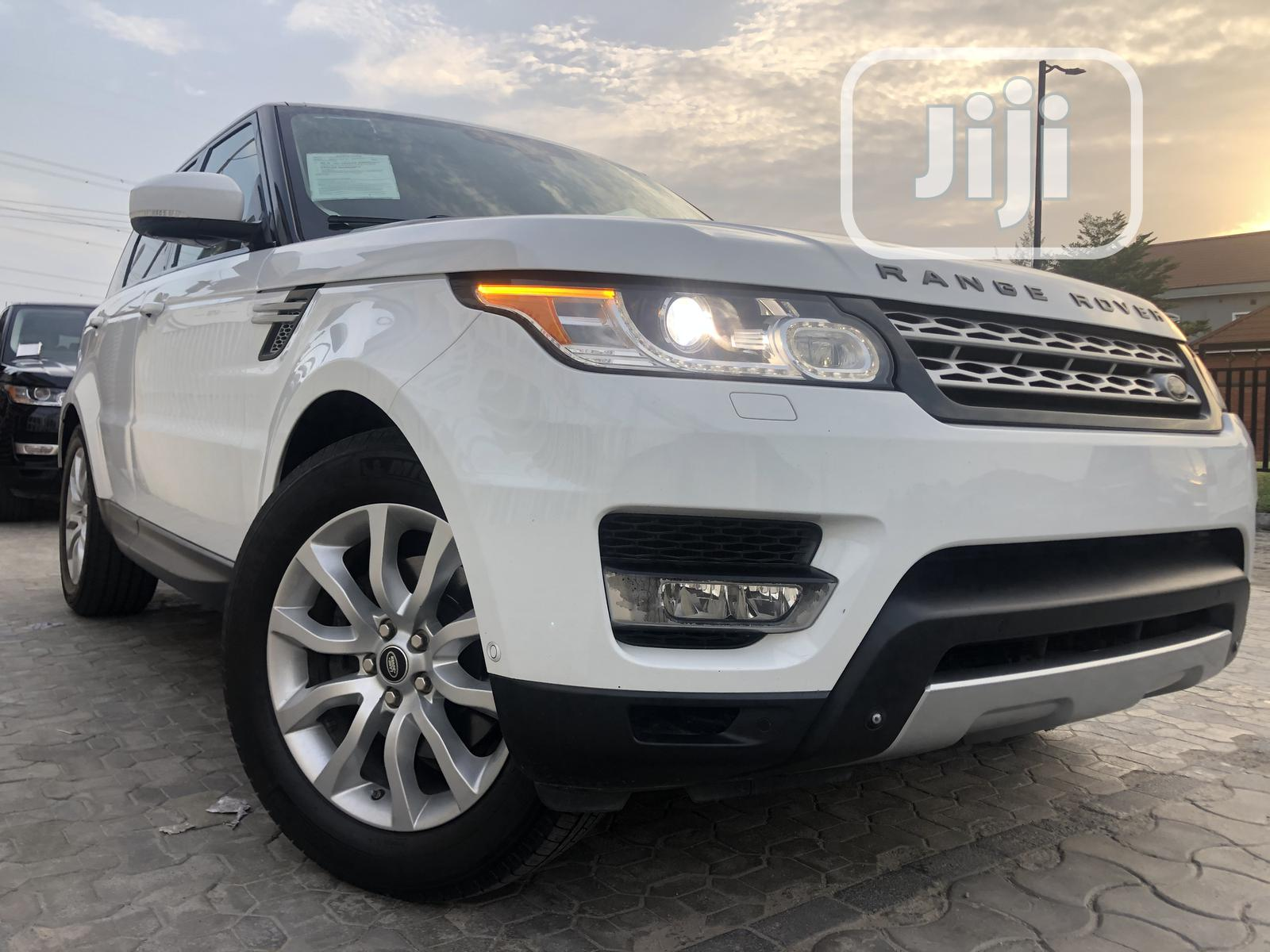 Land Rover Range Rover Sport 2014 HSE 4x4 (3.0L 6cyl 8A) White