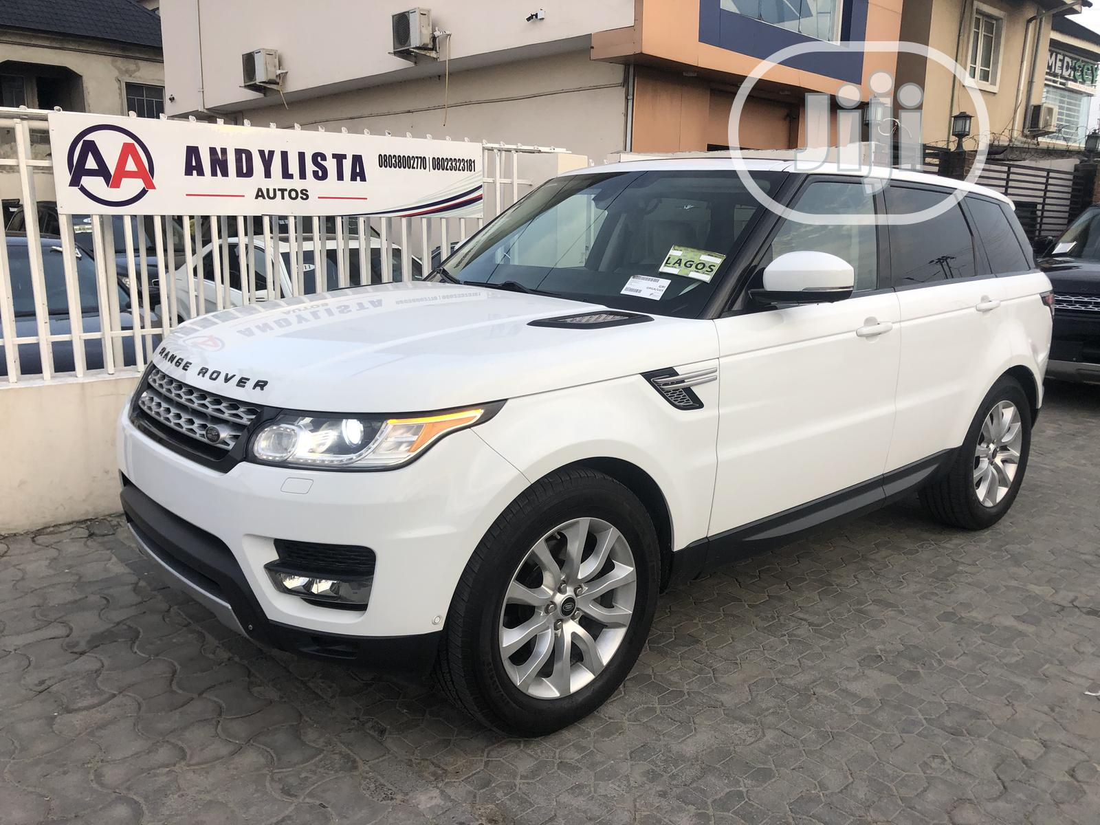 Land Rover Range Rover Sport 2014 HSE 4x4 (3.0L 6cyl 8A) White   Cars for sale in Lekki, Lagos State, Nigeria