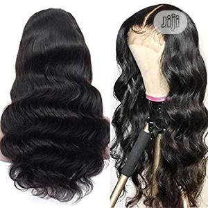 Premium Body Wave Pure Human Hair Wig With Closure   Hair Beauty for sale in Lagos State, Alimosho