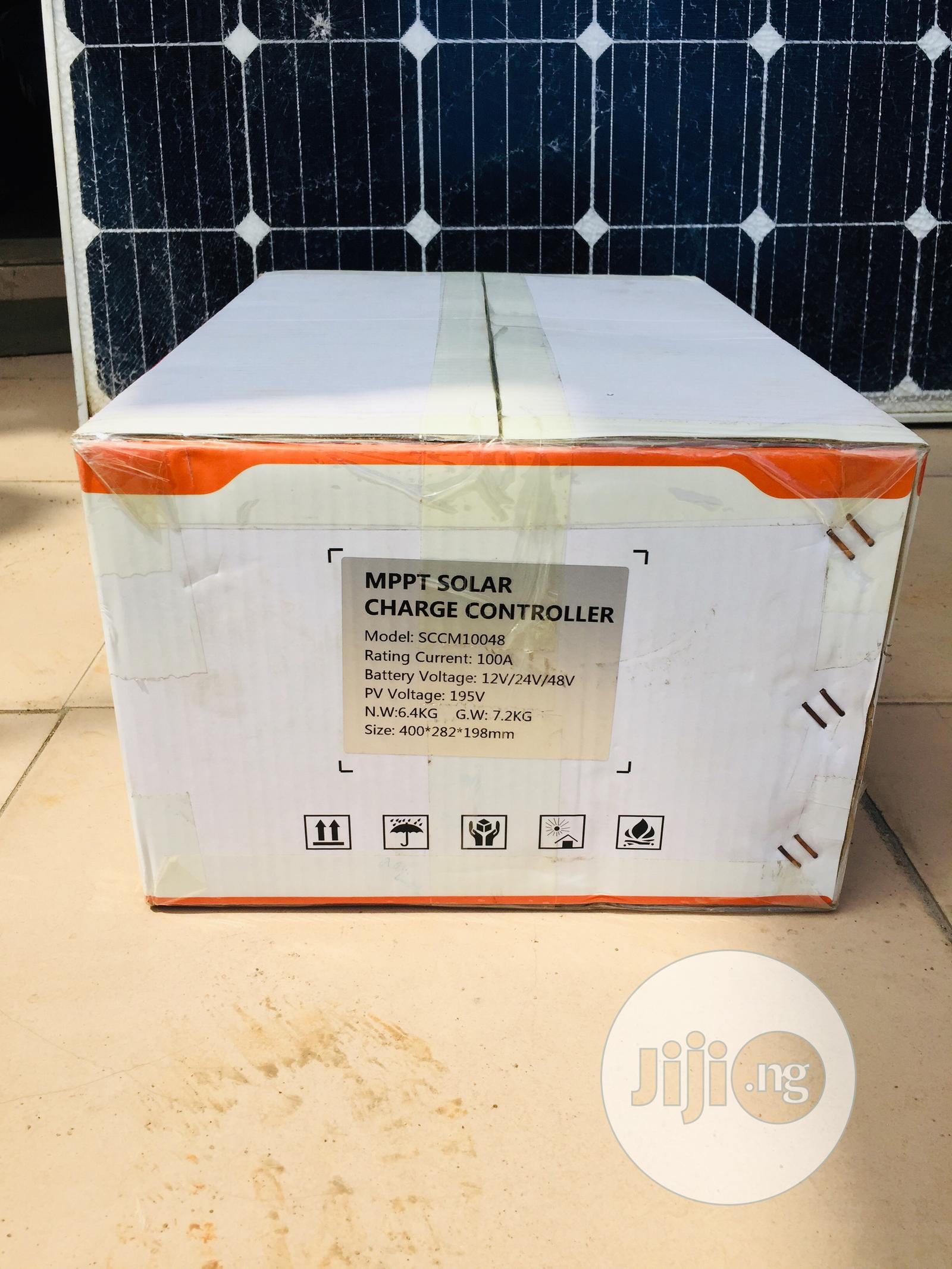 100ah 12/24/36/48v Mppt Solar Charge Controller | Solar Energy for sale in Ojo, Lagos State, Nigeria