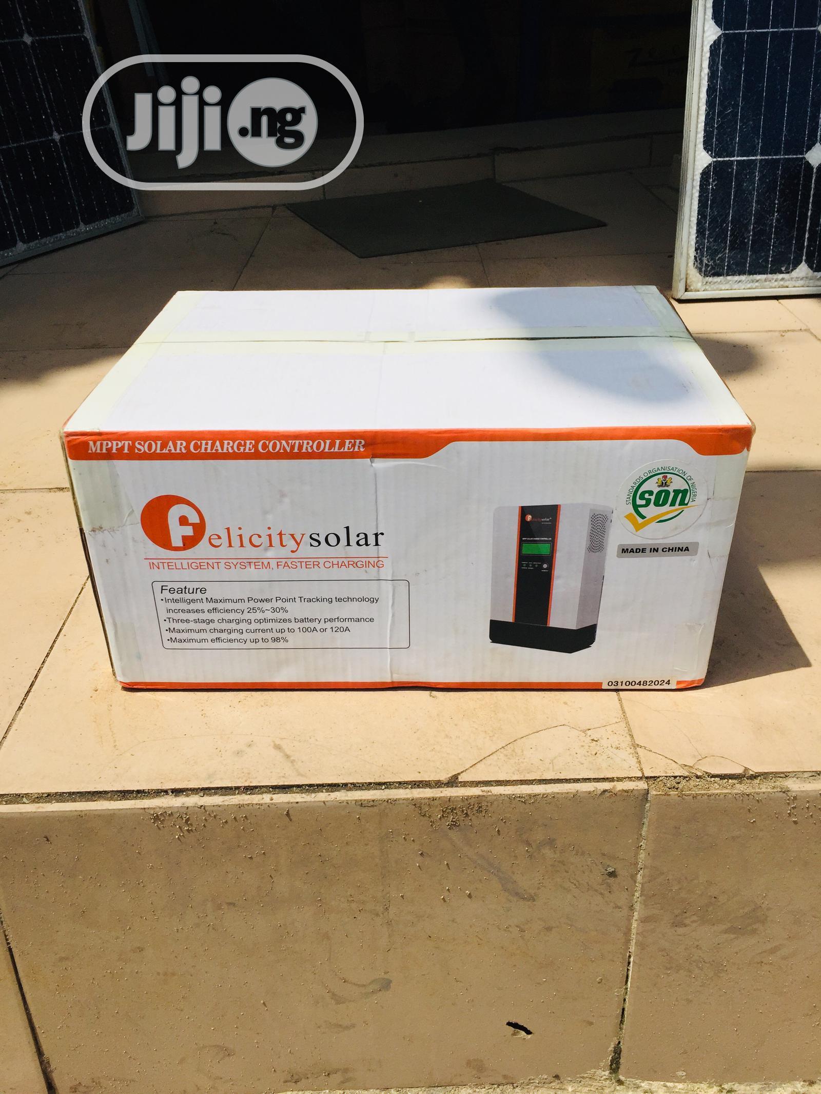 100ah 12/24/36/48v Mppt Solar Charge Controller