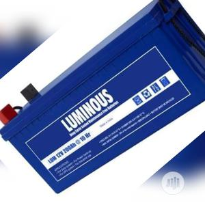 200AH 12volts Luminous Battery   Solar Energy for sale in Lagos State, Ojo