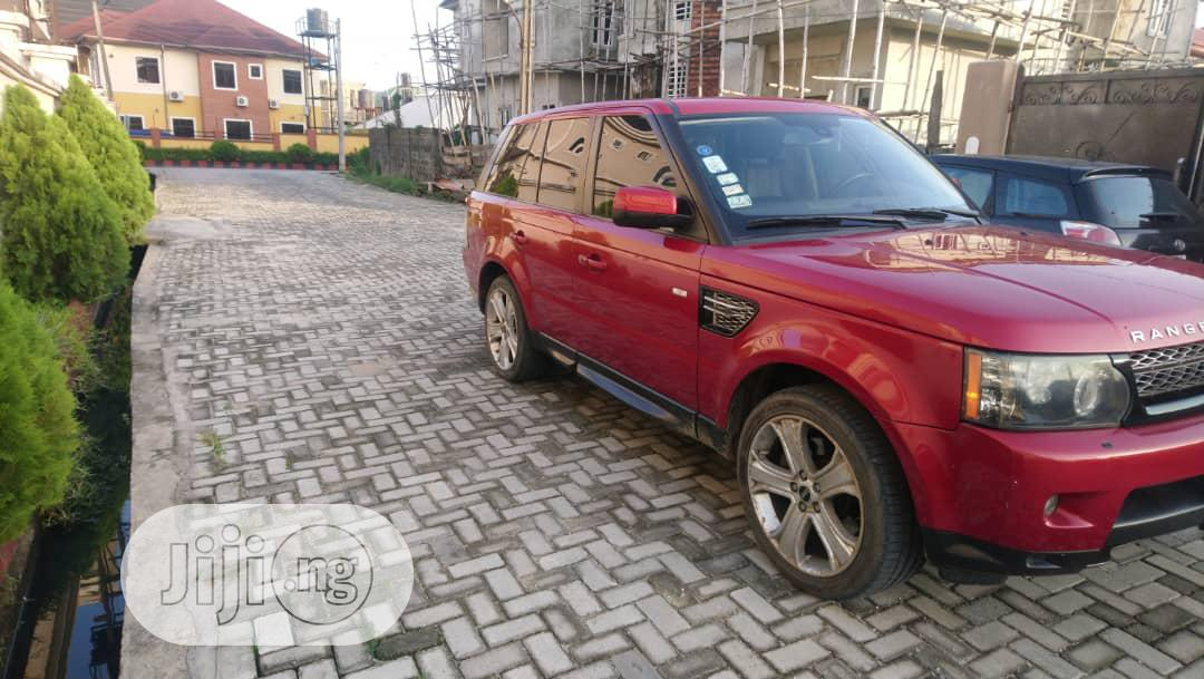 Archive: Land Rover Range Rover Sport 2012 HSE LUX Red