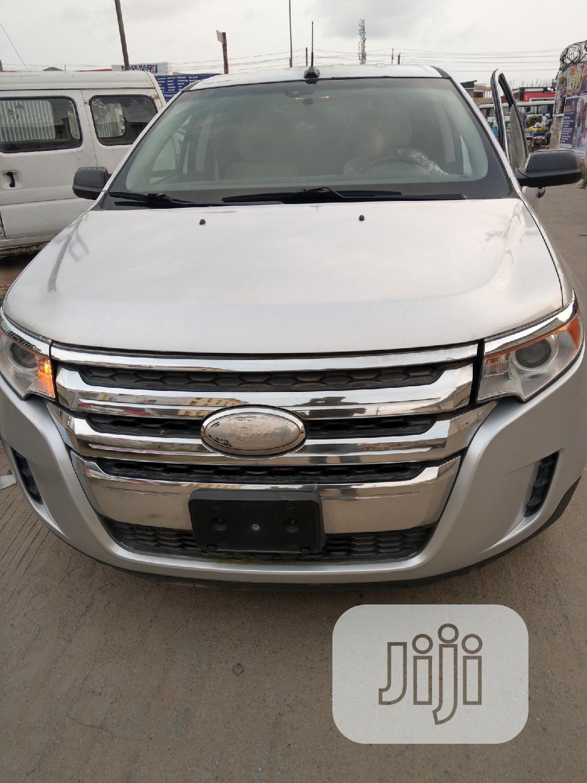 Ford Edge 2013 Silver