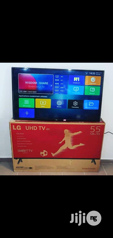 Lg 55inch Uhd Smart Tv With Netflix.