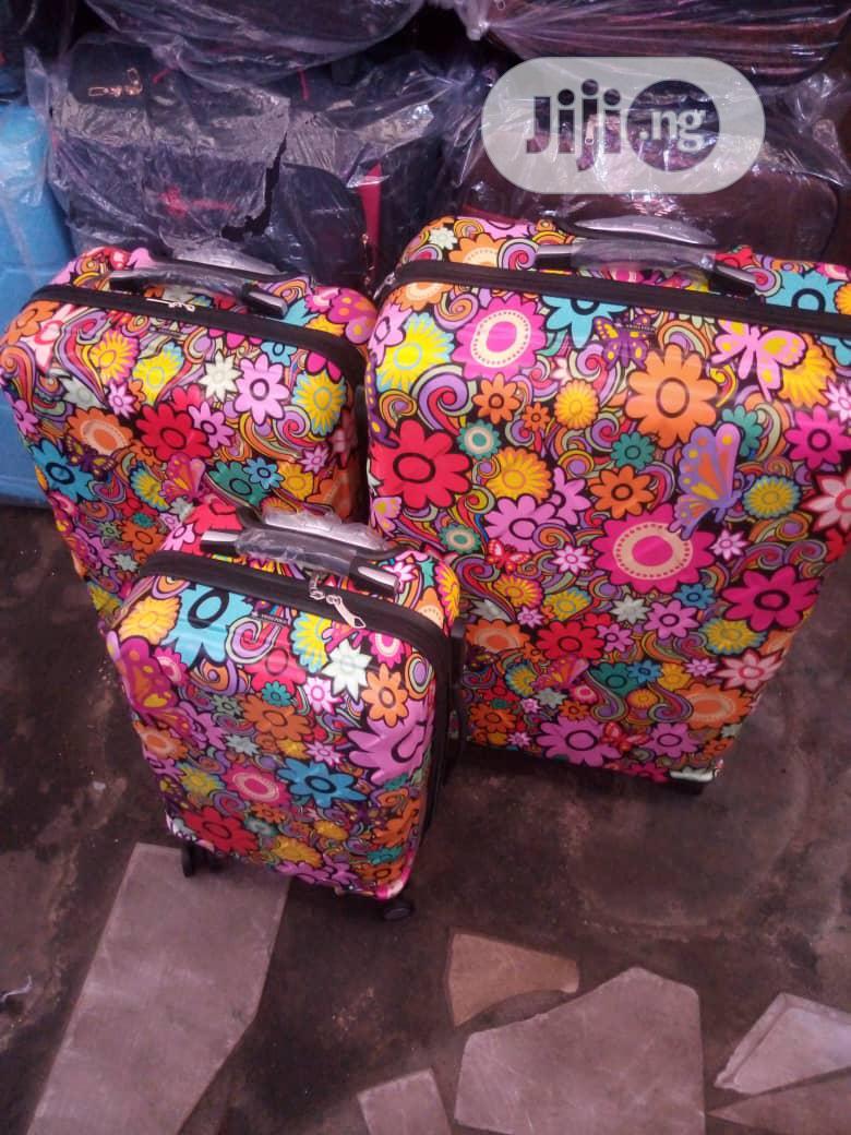 3 Set Trolley Luggage Box