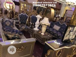Sofa Set With Center Table and TV Stand   Furniture for sale in Lagos State, Lekki