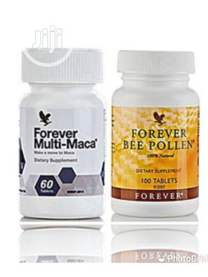 Forever Maca And Bee Pollen For Sex Stamina   Vitamins & Supplements for sale in Lagos State, Ikeja