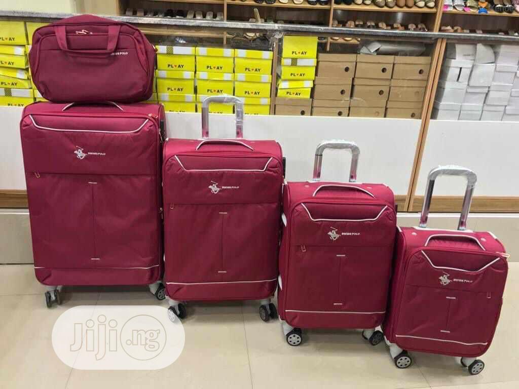 5 Set Trolley Luggage/Travel Bag