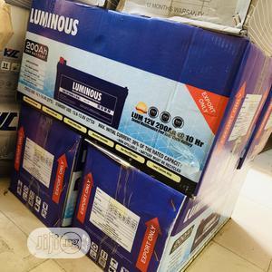 200ah Luminous Battery   Solar Energy for sale in Lagos State, Ojo
