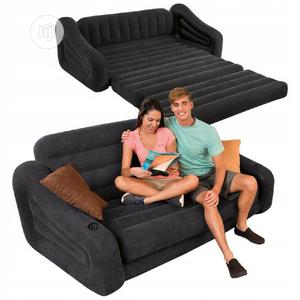 Intex Inflatable Pull-out Sofa & Bed Mattress Sleeper | Furniture for sale in Lagos State, Ojodu