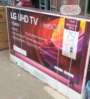 "2020 Original LG 75""UHD 4K TV (Webos) 75UN70 Wifi Bluetooth | TV & DVD Equipment for sale in Lagos State, Ojo"