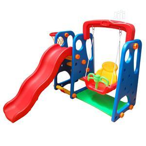 Kids Garden Playground 3 in 1 Swing Slide Basketball | Toys for sale in Lagos State, Ojodu