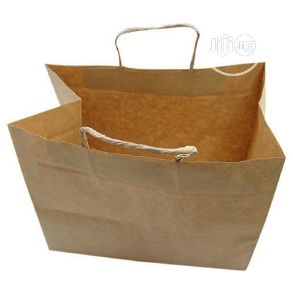 Kraft Graph Paper Carrier Bag | Manufacturing Services for sale in Amuwo-Odofin, Lagos State, Nigeria