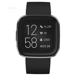 Fitbit Versa 2 -black | Smart Watches & Trackers for sale in Lagos State, Ikeja