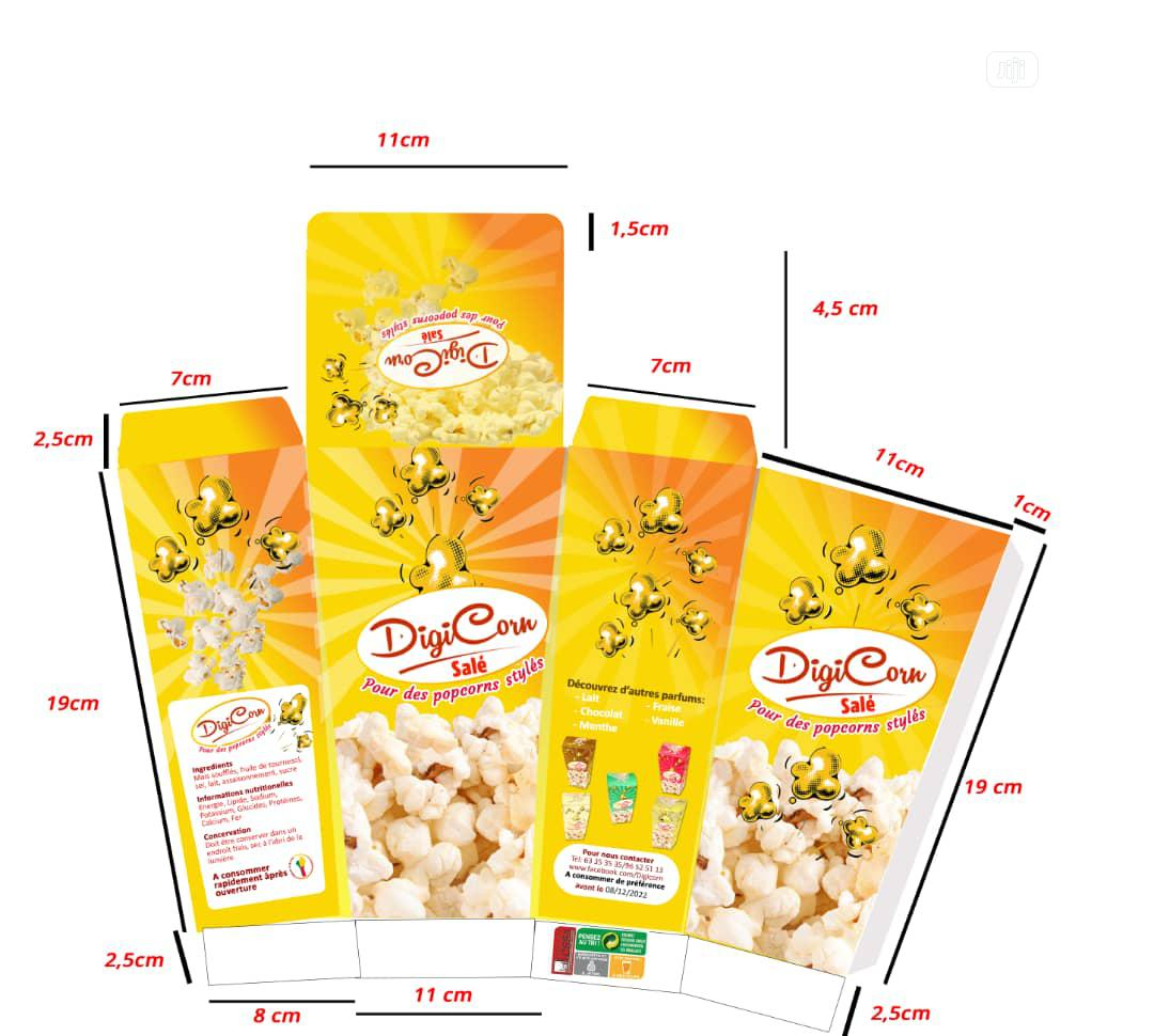 Popcorn Creative Packages For Businesses