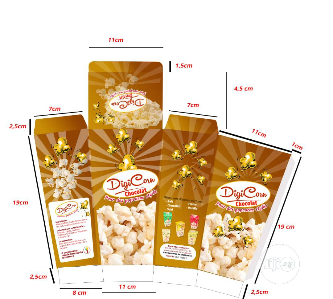 Popcorn Creative Packages For Businesses | Manufacturing Services for sale in Amuwo-Odofin, Lagos State, Nigeria