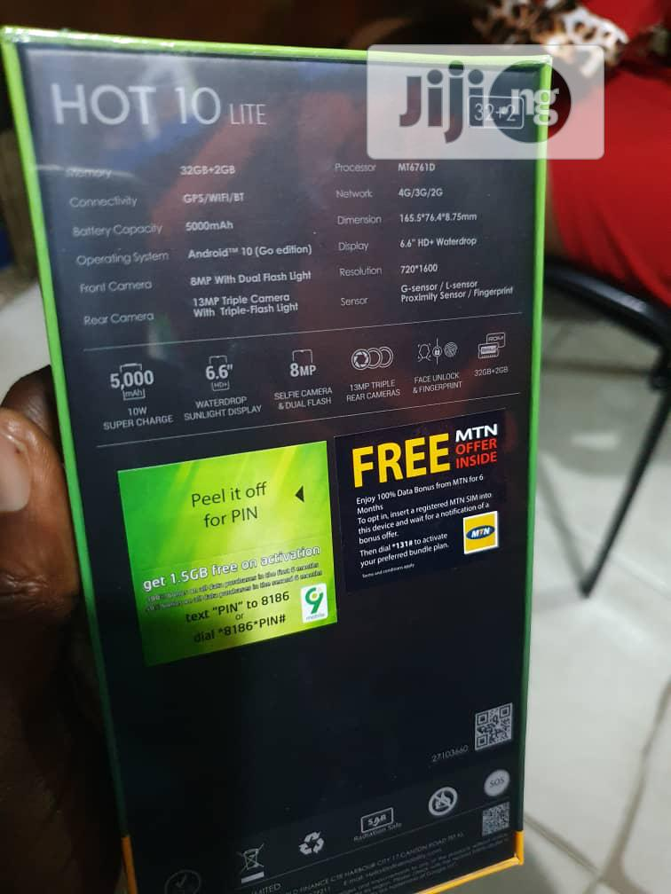 New Infinix Hot 10 Lite X657B 32 GB | Mobile Phones for sale in Ikeja, Lagos State, Nigeria