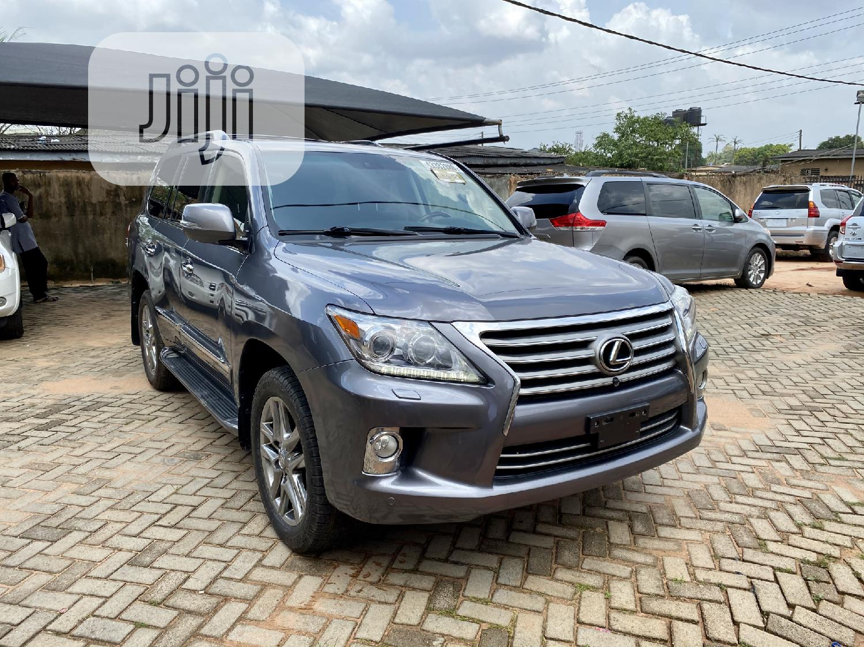 Lexus LX 2013 570 Base Gray   Cars for sale in Benin City, Edo State, Nigeria