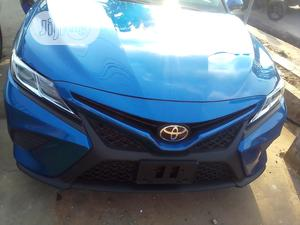 Toyota Camry 2019 SE (2.5L 4cyl 8A) Blue | Cars for sale in Lagos State, Ikeja