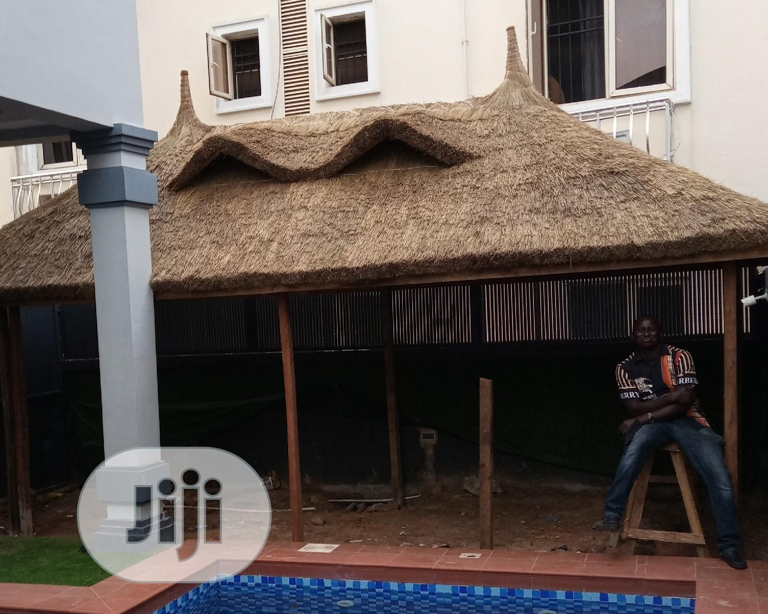 Exclusive Gazebo Bush Bar Hut