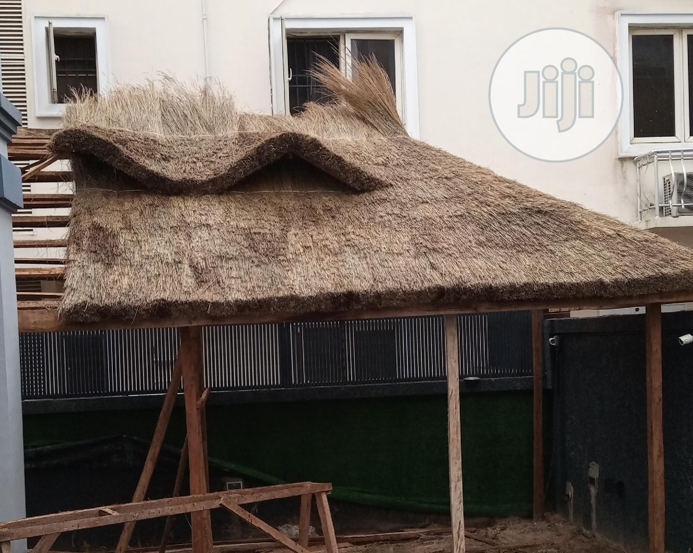 New Design Gazebo Bush Bar Hut