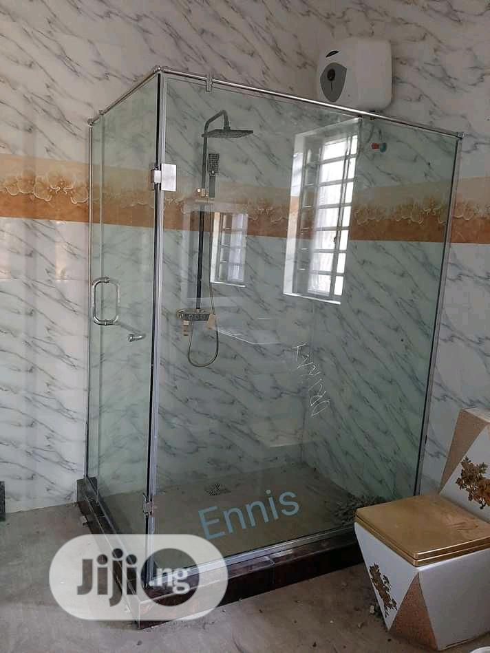 Shower Glass Cubicle Portable