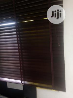 New Wooden Windows Blind for Sale 1 Month Old 15k   Home Accessories for sale in Lagos State, Ajah