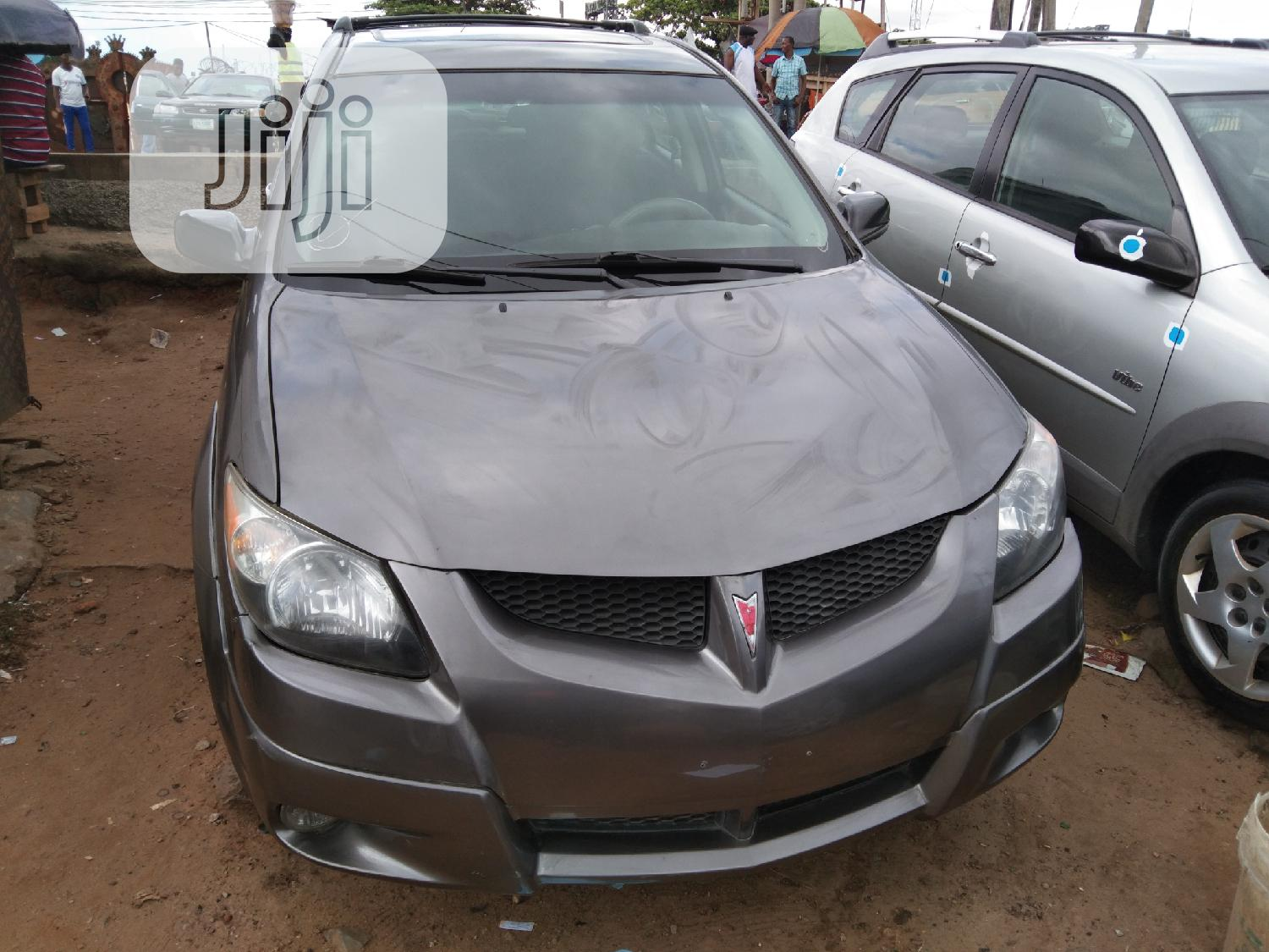 Pontiac Vibe Automatic 2003 Gray | Cars for sale in Apapa, Lagos State, Nigeria