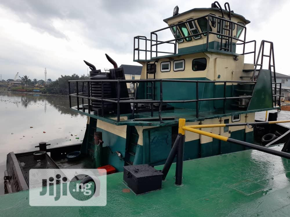 Active Tug Boat