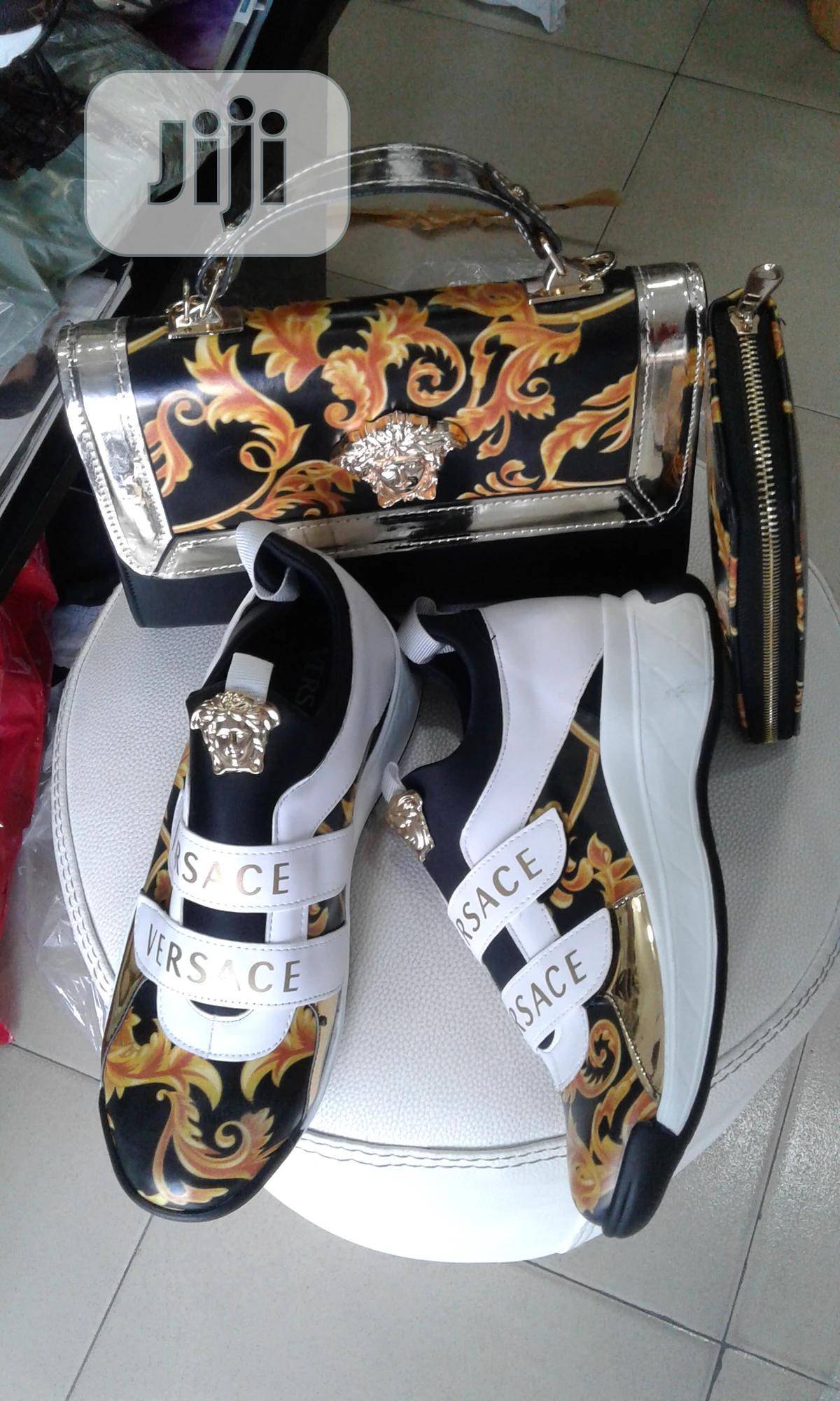VERSACE Shoe, Bag And Purse