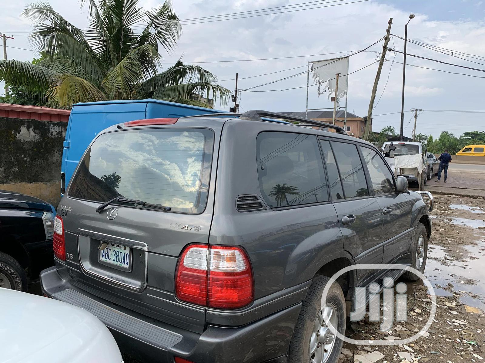 Lexus LX 2003 Gray | Cars for sale in Ifako-Ijaiye, Lagos State, Nigeria
