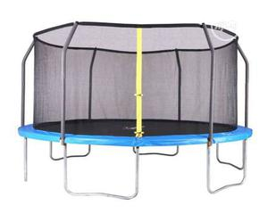 High Quality 14ft American Trampoline(Airzone)   Sports Equipment for sale in Rivers State, Port-Harcourt
