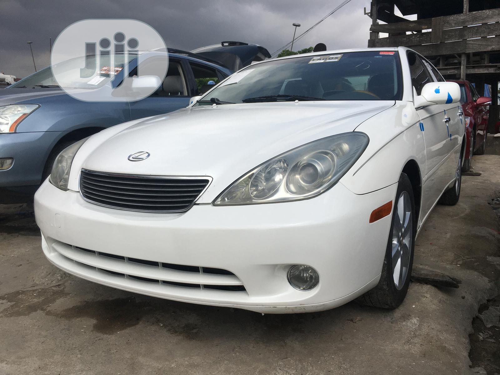 Lexus ES 330 2005 White