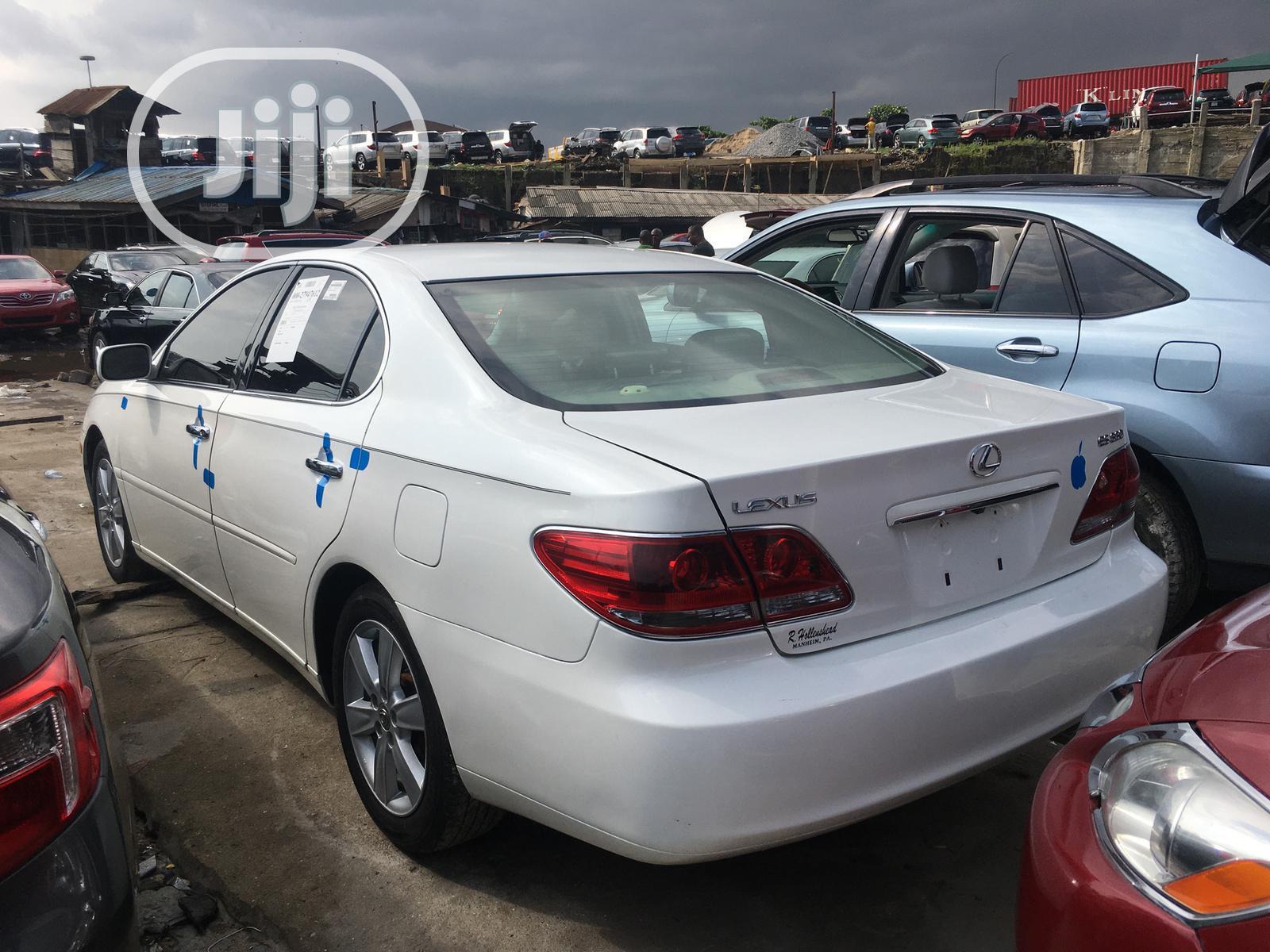 Lexus ES 330 2005 White | Cars for sale in Apapa, Lagos State, Nigeria
