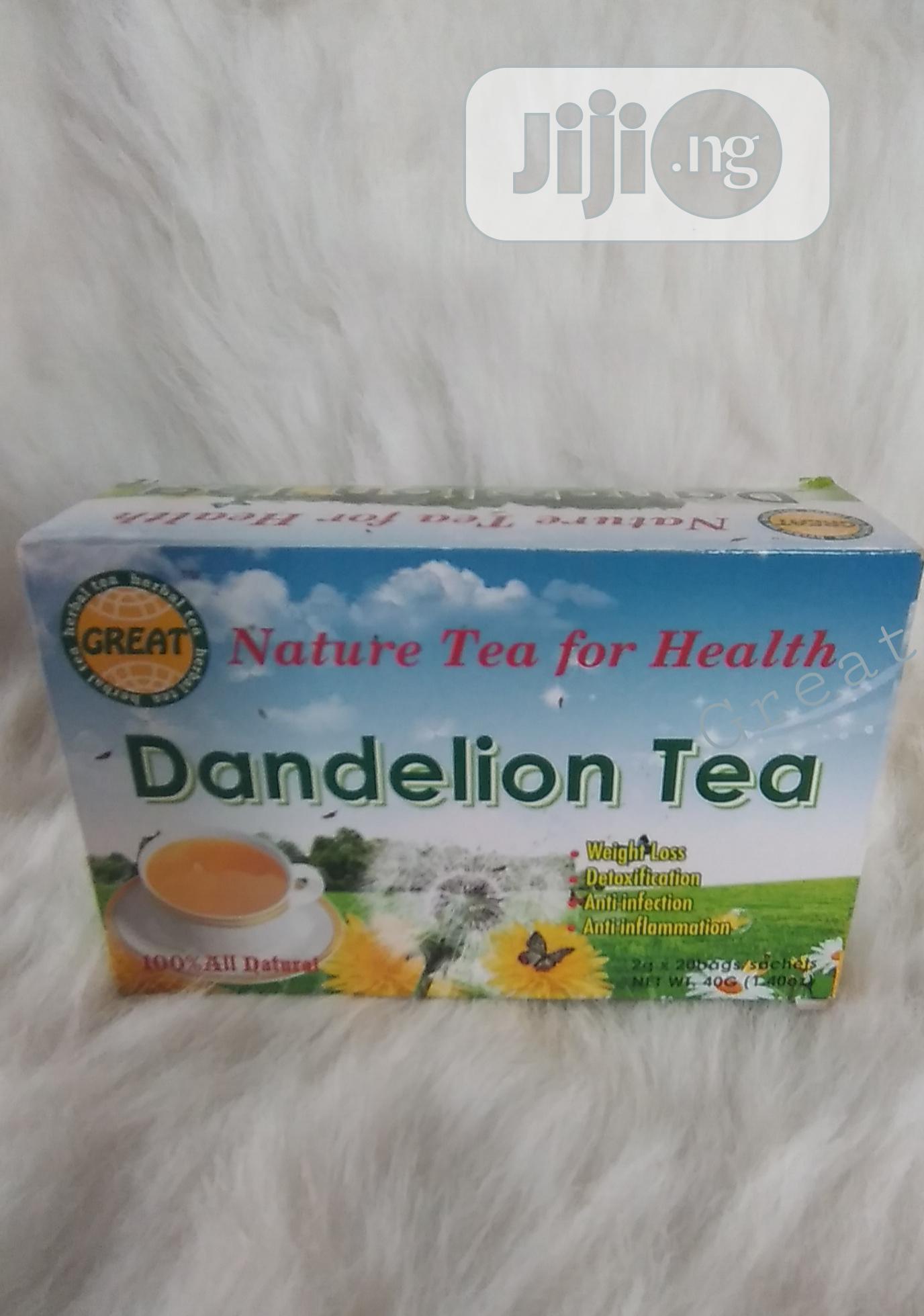 Dandelion Tea - Kidney and Liver Detox   Vitamins & Supplements for sale in Mushin, Lagos State, Nigeria