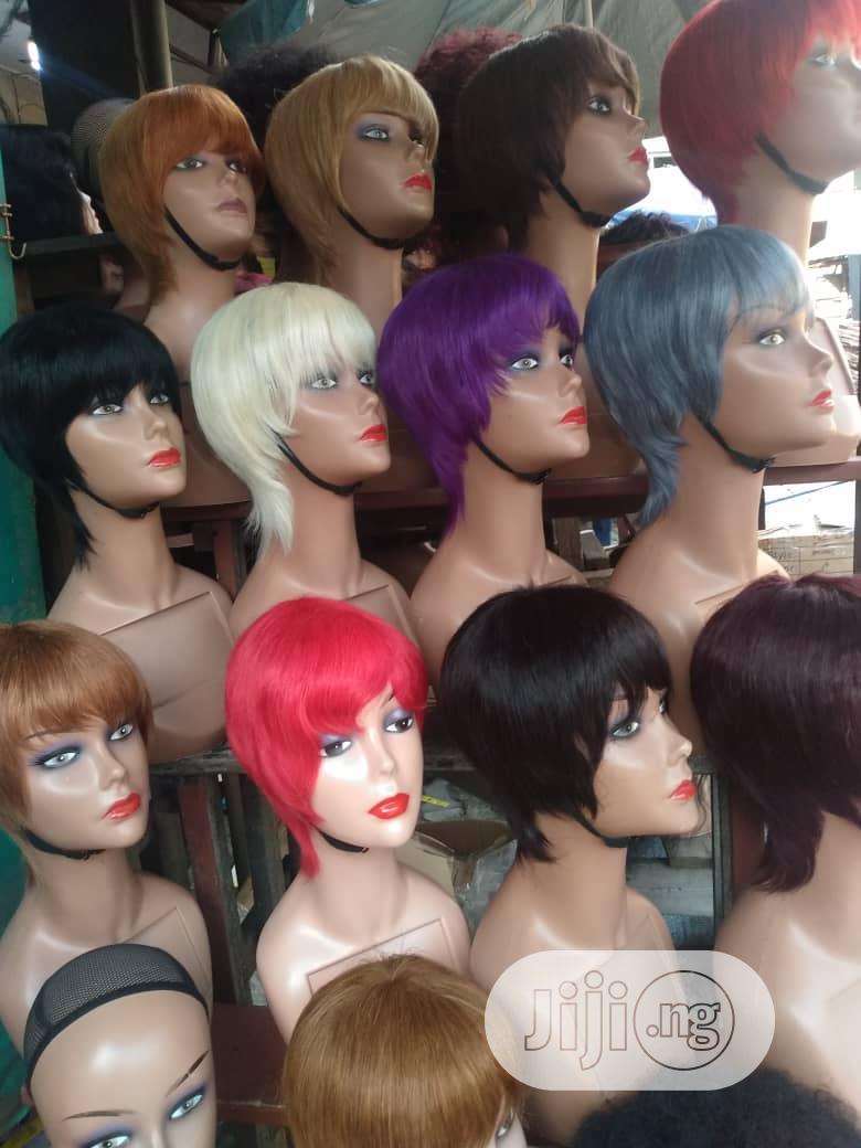 Human Hairs Short Wig