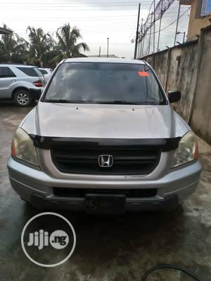 Honda Pilot 2005 EX 4x4 (3.5L 6cyl 5A) Silver | Cars for sale in Lagos State, Isolo