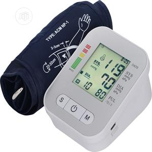 Accurate Arm Blood Pressure Monitor + Voice Function | Medical Supplies & Equipment for sale in Lagos State, Yaba