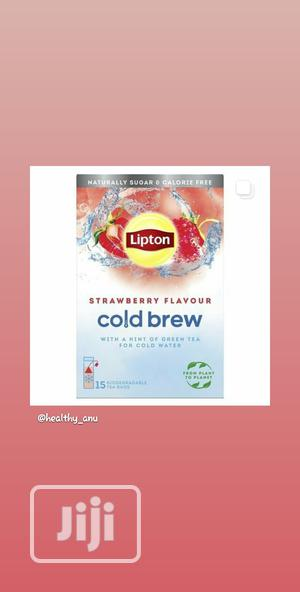 Lipton Cold Brew Strawberry Tea 15 Teabags | Vitamins & Supplements for sale in Lagos State, Ikeja