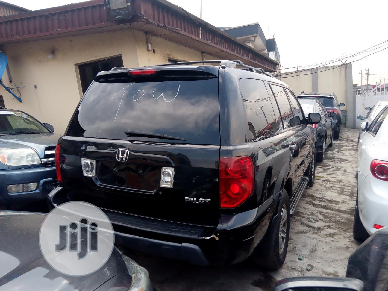 Honda Pilot 2004 Black | Cars for sale in Ikeja, Lagos State, Nigeria