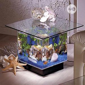 Small Center Table Aquarium | Fish for sale in Lagos State, Surulere